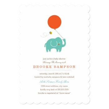 My Balloon | Baby Shower Invitation