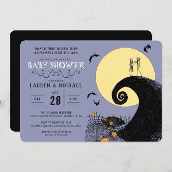 Nightmare Before Christmas Baby Shower Invitation