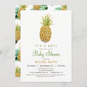 Pineapple Baby Shower