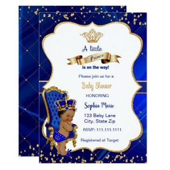 Prince Baby Shower Invitation Baby Boy Shower