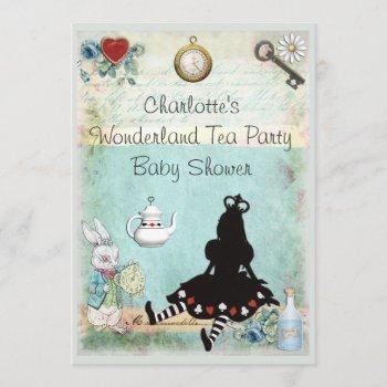 Princess Alice In Wonderland Tea Party Baby Shower