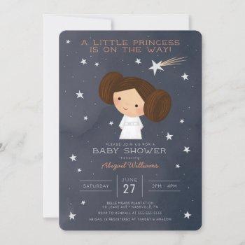 Princess Leia | Watercolor Baby Shower