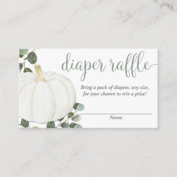 Pumpkin Gender Neutral Fall Diaper Raffle