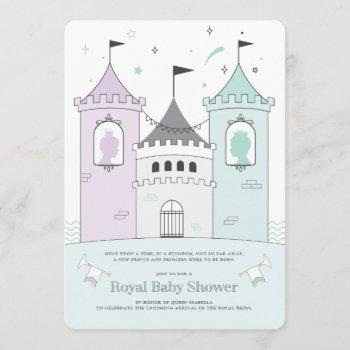 Royal Castle Boy Girl Twins Baby Shower