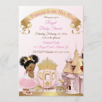 Royal Princess Castle Carriage Pink Gold Girl