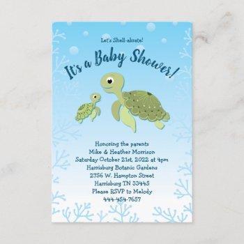 Sea Turtle Baby Shower Co-ed Gender Neutral