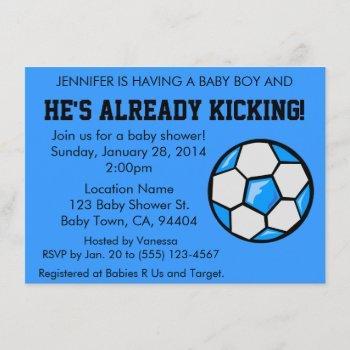 Soccer Baby Shower , Customizable