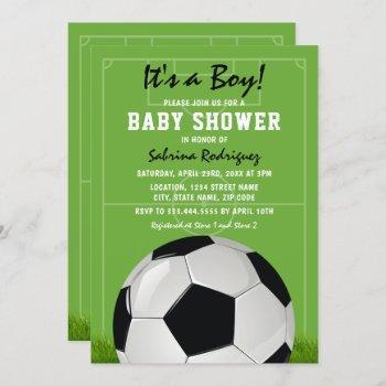 Soccer Baby Shower   It's A Boy
