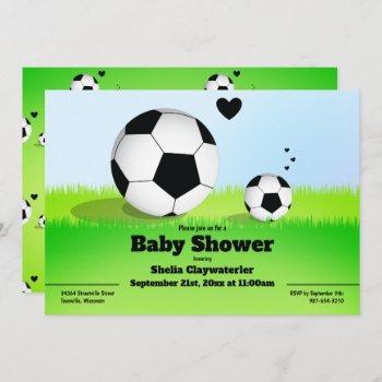 Soccer/football Baby Shower