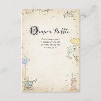 Story Book Baby Shower Diaper Raffle