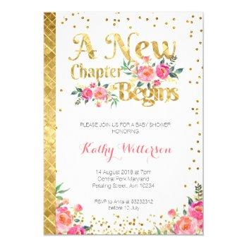 Storybook Fairy Tale Baby Shower Invitation