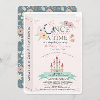 Storybook Princess Castle Pink Baby Shower By Mail