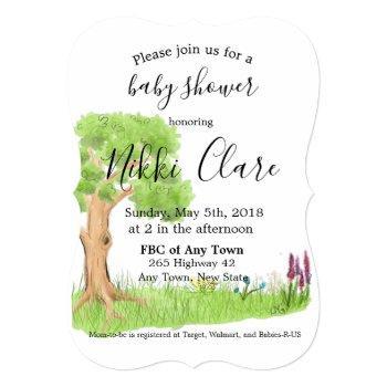 Storybook Tree Invitation