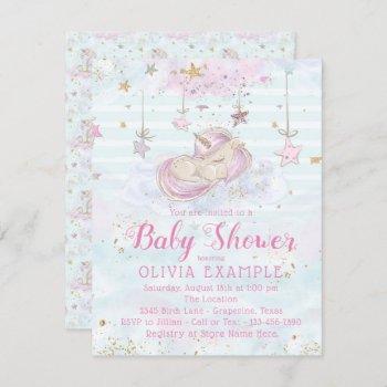 Sweet Unicorn Baby Shower