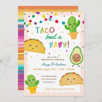 Taco Bout A Baby - Fiesta Theme Baby Shower Invitation