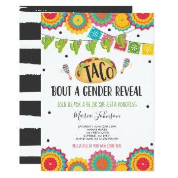 Taco 'bout A Gender Reveal Fiesta He Or She-esta Invitation