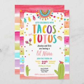 Tacos And Tutus Mexican Fiesta Couples Baby Shower