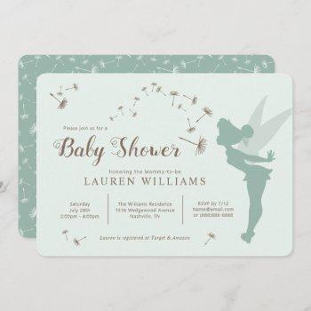 Tinker Bell Baby Shower Invitation