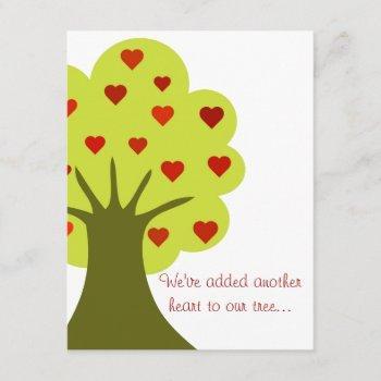 Tree Of Hearts Invitation