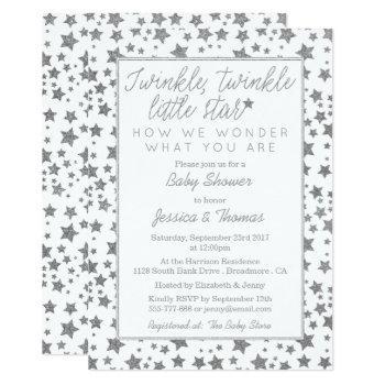 Twink, Twinkle Little Star Baby Shower Invitation