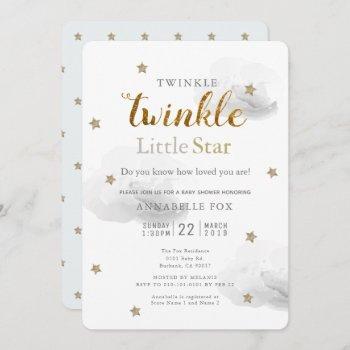 Twinkle Little Star & Cloud Baby Shower