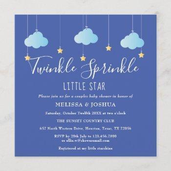 Twinkle Sprinkle Little Star Couples Baby Sprinkle