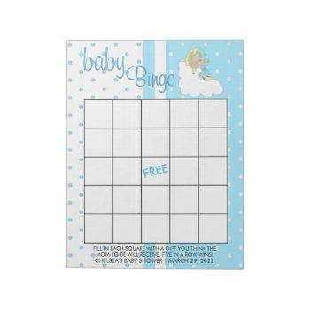 Twinkle, Twinkle Little Star -  Baby Boy - Bingo Notepad
