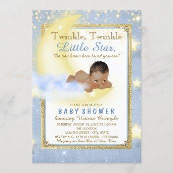 Twinkle Twinkle Little Star Ethnic Boy Baby Shower