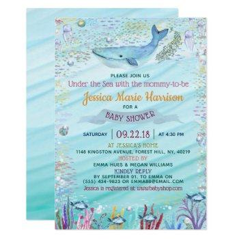 Under The Sea Baby Shower Invitation