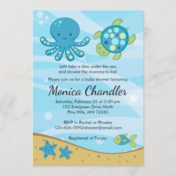 Under The Sea Blue Baby Shower