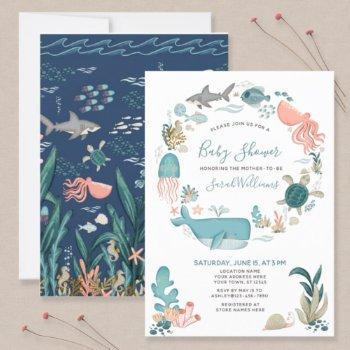 Under The Sea Ocean Animals Baby Shower Script