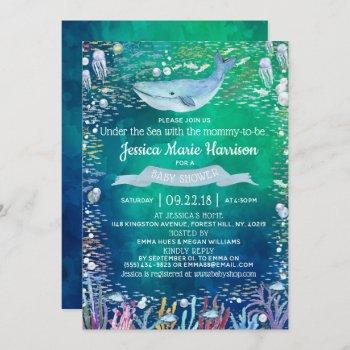 Under The Sea | Ocean Themed Baby Shower