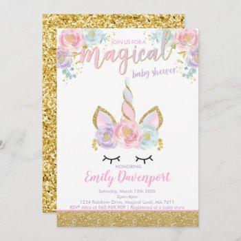 Unicorn Baby Shower  Magical Baby Shower