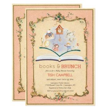 Vintage Storybook Baby Shower Invitation