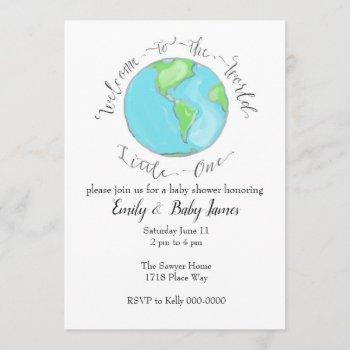 Welcome To The World Invitation