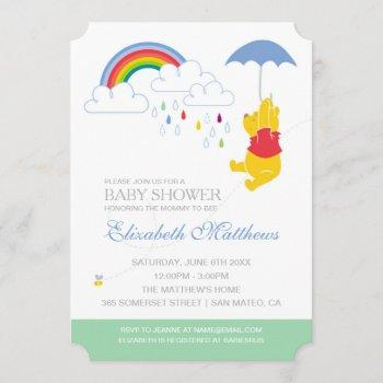 Winnie The Pooh | Boy Baby Shower Invitation