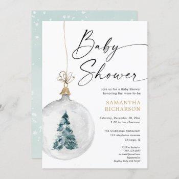 Winter Wonderland Gender Neutral Baby Shower