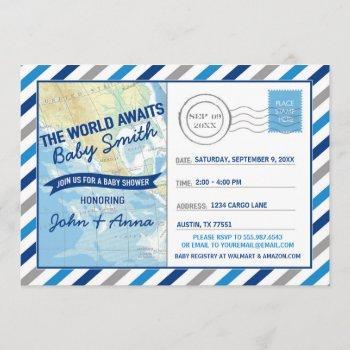 World Awaits Baby Shower  Blue Post